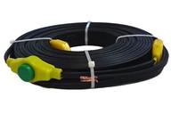 Гибкий ленточный нагреватель ЭНГЛ-1 (нагревательная лента) для обогрева и защиты от замерзания трубопроводов, водостоков,  резервуаров, прогрева почвы