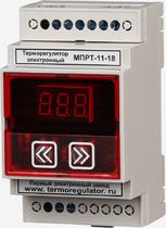 Терморегулятор сцифровым управлением МПРТ-11-18